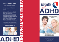 ADDults with ADHD brochure